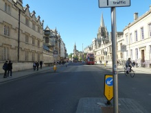 Oxford High Street closer to Turner's viewpoint