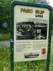 Parc Slip  Scene of a mining tragedy and now a place of refuge for wildlife.
